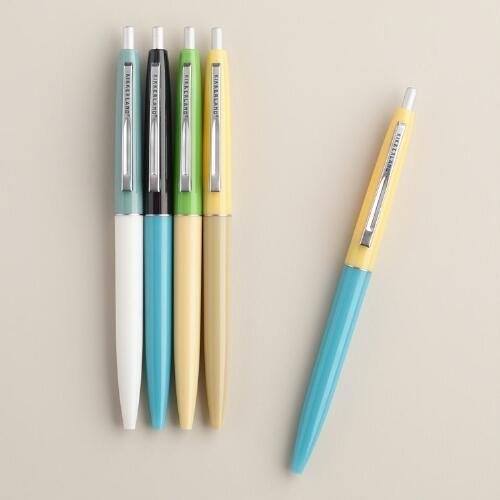 Retro Pens, 5-Pack