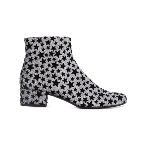 SAINT LAURENT Star Print Boots