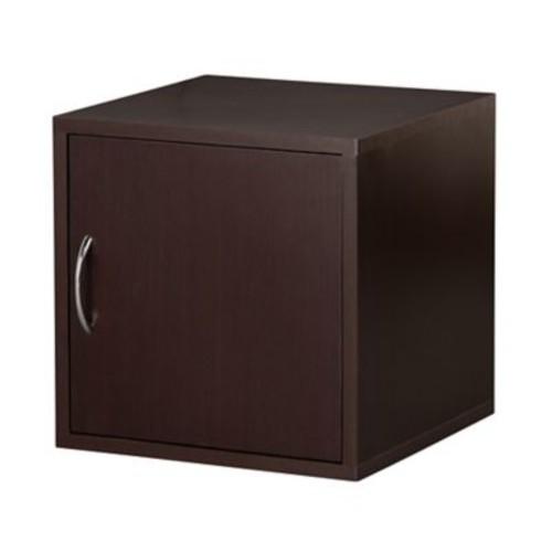 Hazelwood Home Carrabba 15'' 1 Door Modular Storage Cabinet; Espresso