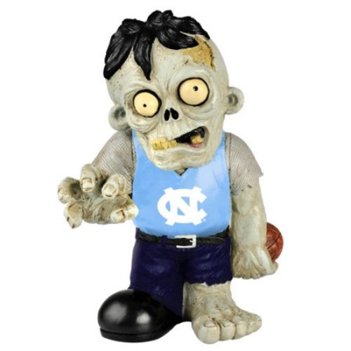 Forever Collectibles NCAA Resin Zombie Figurine, University of Illinois Fighting Illini