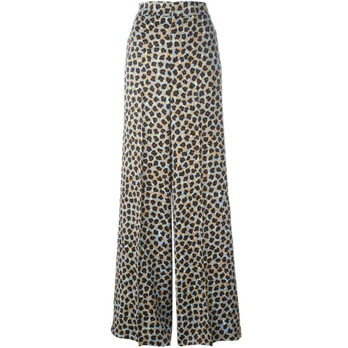ETRO Wide Floral Print Trousers
