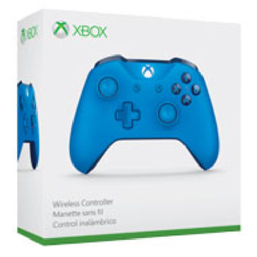 Xbox Wireless Controller - Blue with 6-Month Xbox Live Gold Membership