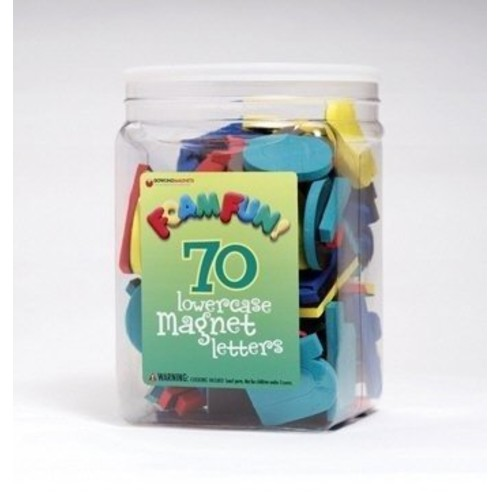 Dowling Magnets Foam Fun Magnet Lowercase Letters