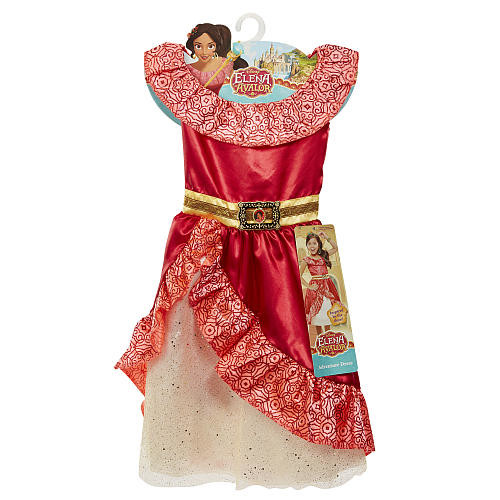 Disney Elena of Avalor Adventure Dress - Child Size 4-6 X
