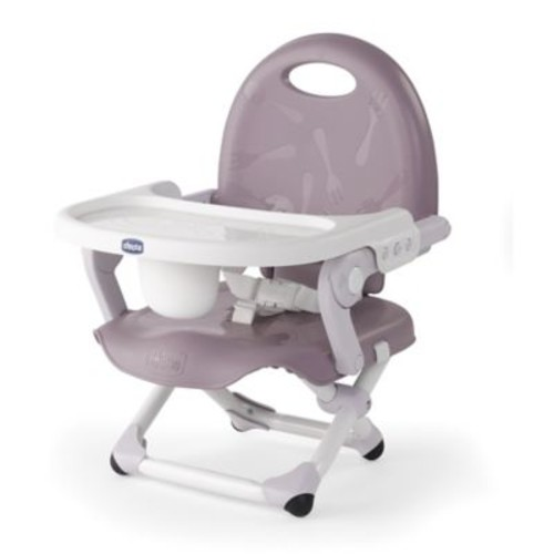 Chicco Pocket Snack Portable Booster Seat in Lavender