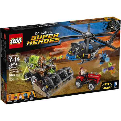 LEGO DC Comics Super Heroes Batman: Scarecrow Harvest of Fear #76054