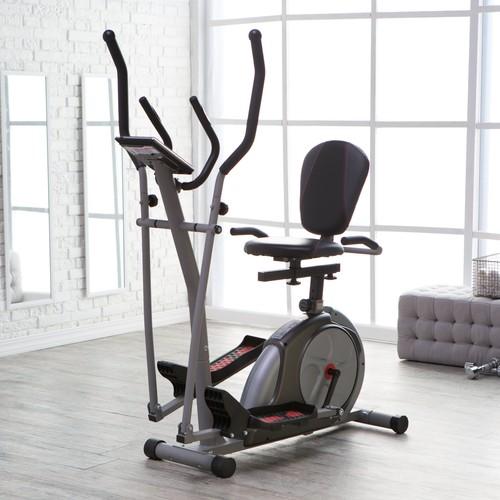 Body Rider 3 in 1 Trio Trainer - Elliptical/Recumbent Bike/Upright Bike