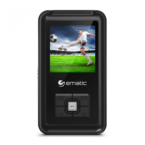 Ematic 8GB MP3 Video Player with FM Tuner \u00261.5\