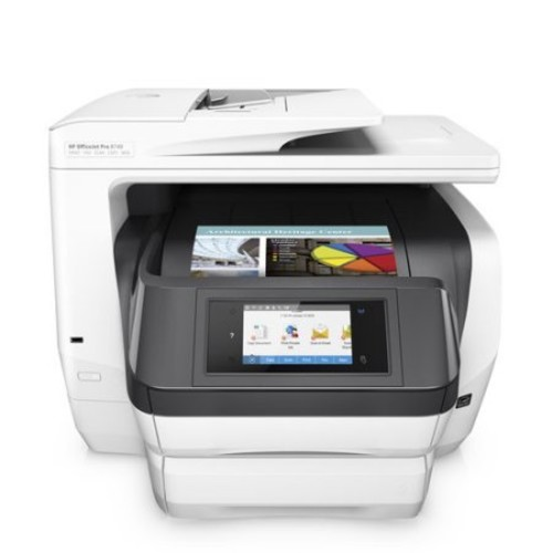 HP OfficeJet Pro 8740 All-in-One Wireless Printer with Mobile Printing, Instant Ink ready (K7S42A)