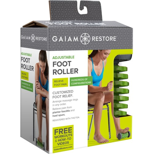 Gaiam Adjustable Foot Roller