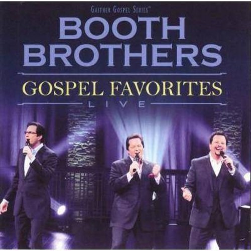 Booth Brothers - Gospel Favorites Live (CD)