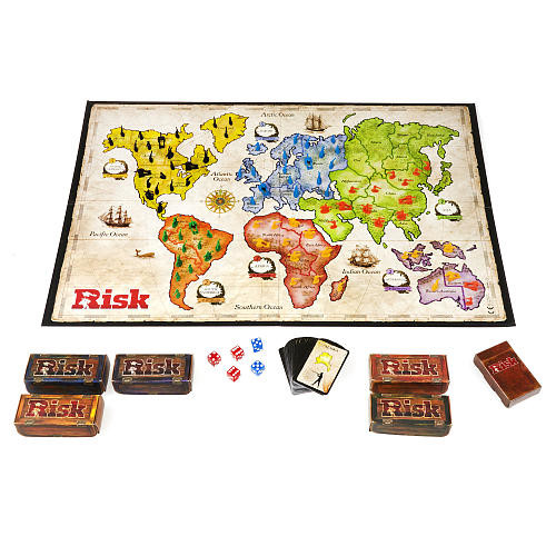 Hasbro Gaming Risk The Game of Strategic Conquest Classic Board Game