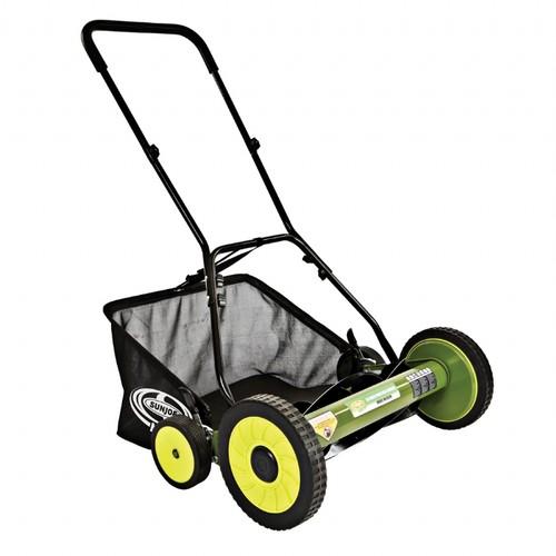 Sun Joe MJ502M-RM Mow Joe 20 Inch Manual Reel Mower with Catcher (Refurbished) -