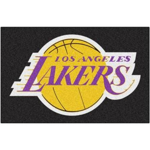 FANMATS LOS ANGELES LAKERS STARTER RUG