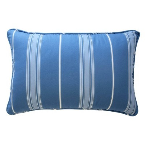 Ride the Waves Striped Throw Pillow (12