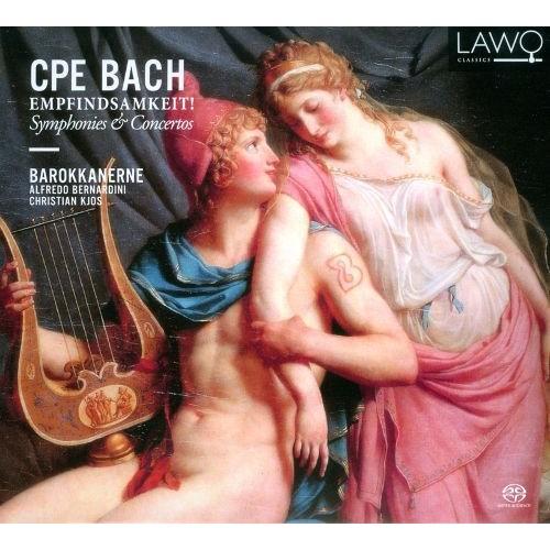 CPE Bach: Empfindsamkeit! - Symphonies & Concertos [Super Audio Hybrid CD]