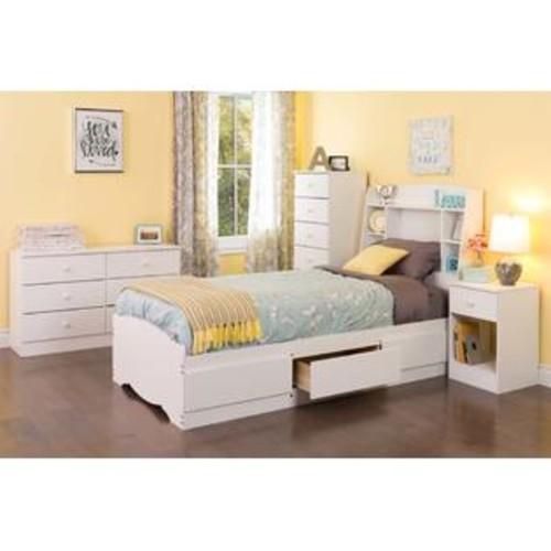Prepac Astrid 6-Drawer Dresser White