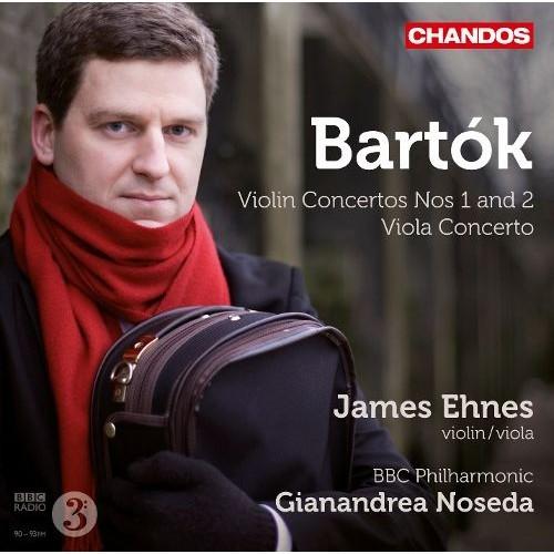 Bartk: Violin Concertos Nos. 1 and 2; Viola Concerto [CD]