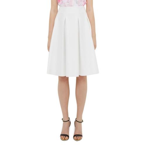 TED BAKER Tylea Pleat Detail Skirt