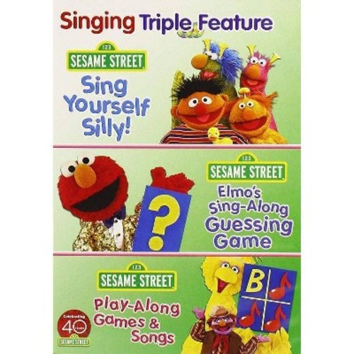 Sesame Street: Singing Triple Feature