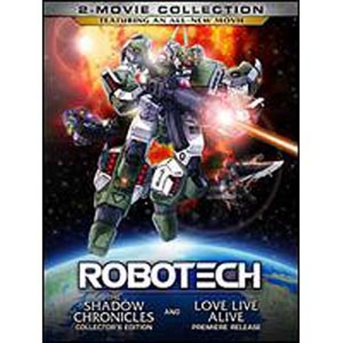 Robotech: The Shadow Chronicles/Robotech: Love Live Alive [2 Discs]