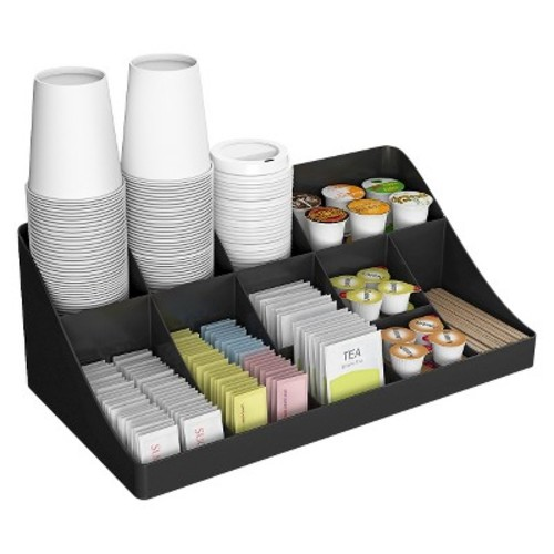 Mind Reader EMS Mind Coffee Condiment Organizer