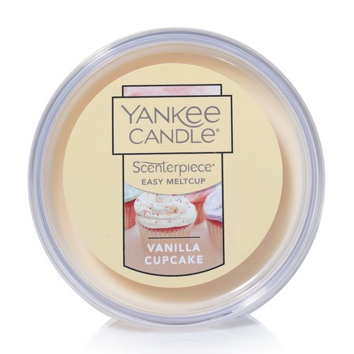 Yankee Candle Vanilla Cupcake Scenterpiece Wax Melt Cup