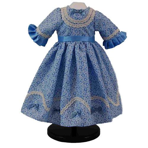 The Queen's Treasures 1800's Style Sunday Dress for 18 inch Doll