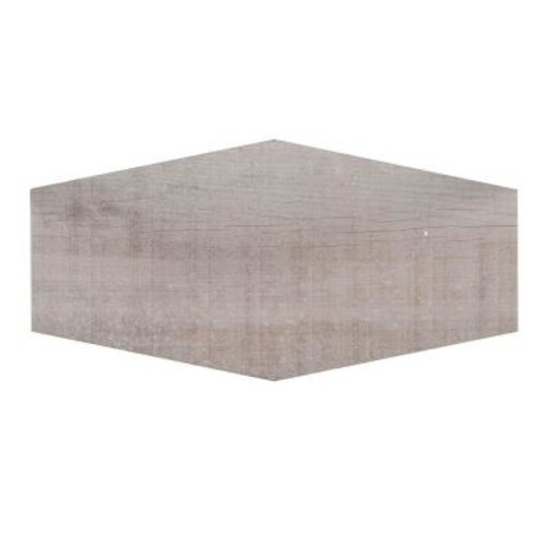 Jeffrey Court Oakwood Lily 9-1/2 in. x 19-1/2 in. x 8.5 mm Porcelain Hexagon Floor and Wall Tile (12.15 sq. ft. / case)
