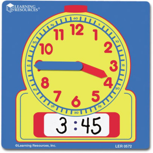 Learning Resources Write & Wipe Student Clocks