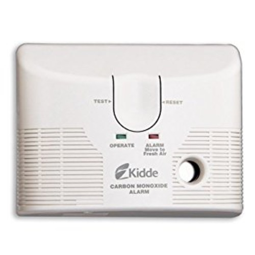 Kidde KN-COB-LCB-A Tamper Resistant Plug-In Carbon Monoxide Alarm with Battery Backup, 6-Pack