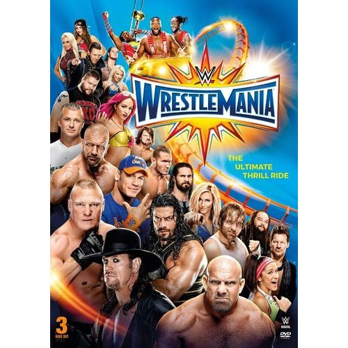 WWE: Wrestlemania XXXIII [3 Discs] [DVD] [2017]