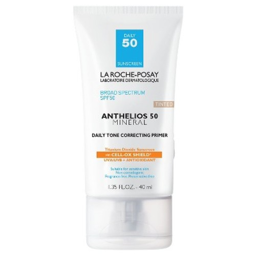 La Roche-Posay Anthelios Tinted Mineral Face Primer with Sunscreen - SPF 50 - 1.7oz
