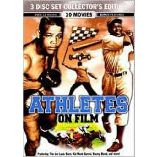 Athletes On Film: Mickey Rooney, Leonard Nimoy, Joe Louis, Jackie Robinson, Rory Calhoun and others, various: Movies & TV