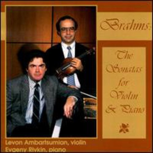 Brahms: Violin Sonatas [CD]