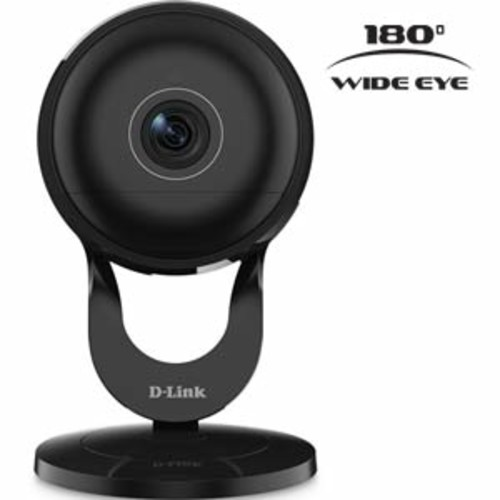 D-Link Full HD 180-Degree Wi-Fi Camera With 1080p HD Quality Video