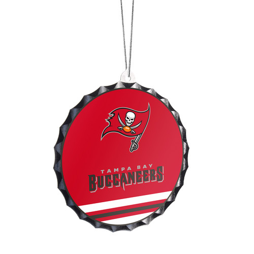 NFL Bottle Cap Ornament - Tampa Bay Buccaneers