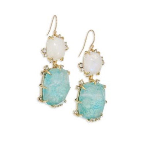 Elements Crystal Double-Drop Earrings