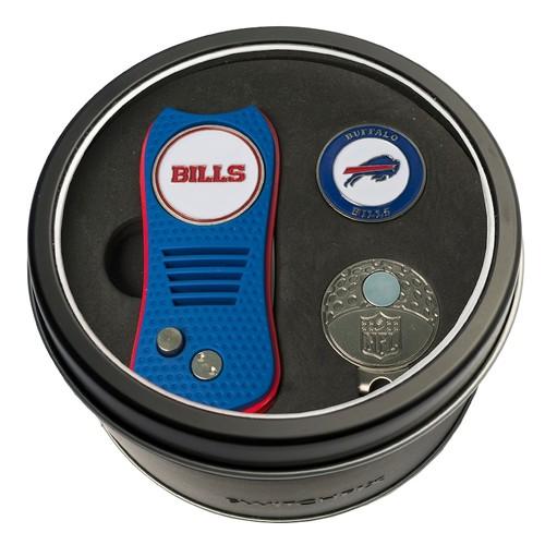 Team Golf Buffalo Bills Switchfix Divot Tool, Cap Clip & Ball Marker Set