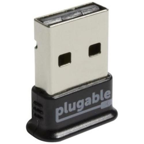 Plugable (USB-BT4LE) Bluetooth 4.0/USB 2.0 External Wireless Adapter, Black