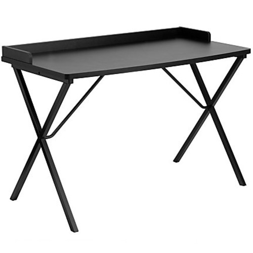 Flash Furniture Contemporary Laminate Computer Desk, Black