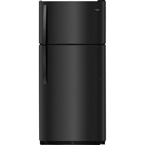 Frigidaire 18 cu. ft. Top Freezer Refrigerator in Black