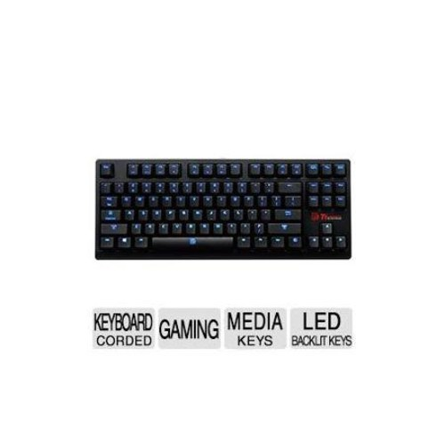 Tt eSPORTS POSEIDON ZX Mechanical Gaming Keyboard - Blue Switch