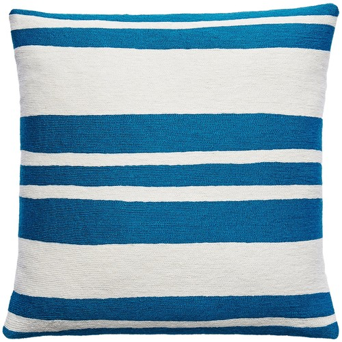 Cabana Tropical Blue/Cream Pillow