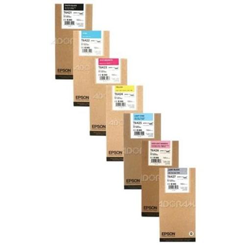 Epson T642k UltraChrome HDR Photo Black Ink Set for 7890/9890/7900/9900 T642K2B