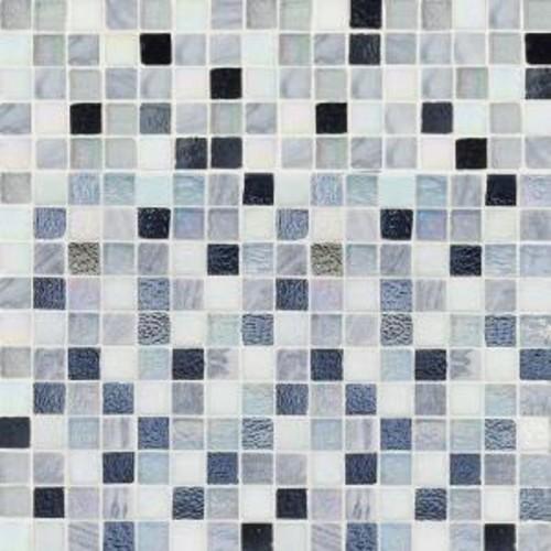 Jeffrey Court Winter Opal Cut Edge 12 in. x 12 in. x 6 mm Glass Marble Mosaic Tile