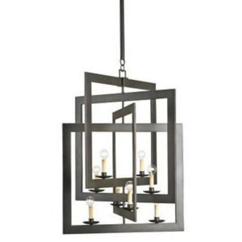 Currey and Company 9927 Middleton - Eight Light Chandelier, Bronze Gold Finish