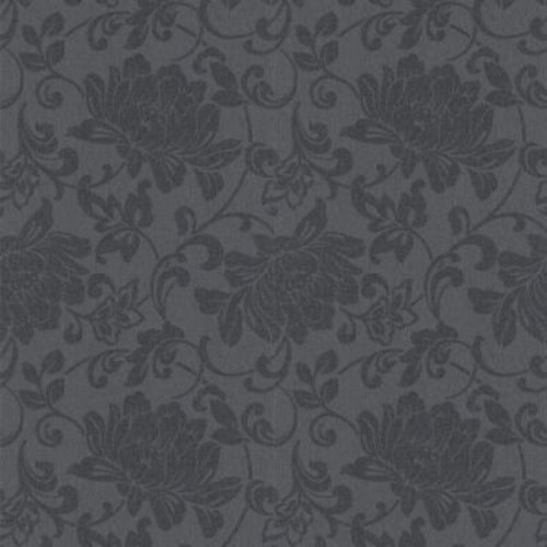 Graham & Brown Jacquard Charcoal Removable Wallpaper