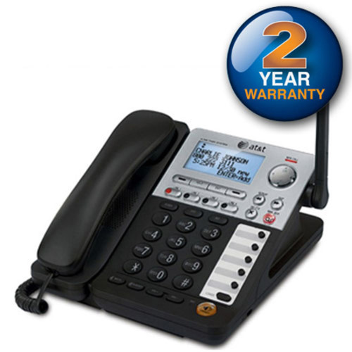 AT&T SynJ SB67148 DECT 6.0 Cordless Deskset for the AT&T SynJ SB67138 & SB67158 Small Business Phone System [Expansion Deskset]