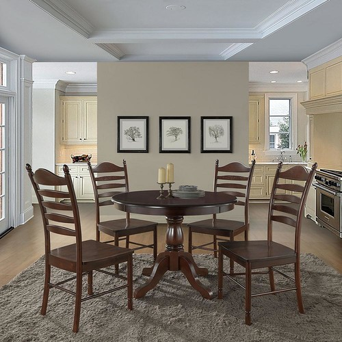 Carolina Cottage Whitman Espresso Wood Dining Chair